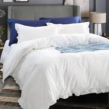 King Size Cotton Duvet Cover Washed Cotton Duvet Cover Set U2013 Ntbay