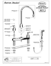 American Standard Cadet Kitchen Faucet American Standard Faucet Parts Photo 5 Of 7 Attractive Faucet