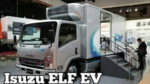 jakarta 2017 mitsubishi to export isuzu elf ev future cargo truck zonaotomania