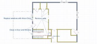 floor plans for kitchens expanding a closed off kitchen creates a family friendly home