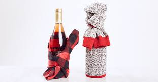 wine bottle gift wrap this is how you gift wrap a wine bottle the fabletics