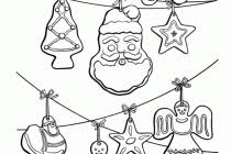 ornaments coloring pages free inside pictures of