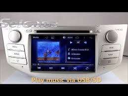 lexus rx 350 sound system and play 2007 2008 2009 toyota harrier aftermarket navigation