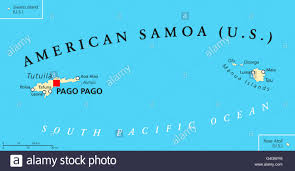 Map Of The United States Capitals by American Samoa Political Map With Capital Pago Pago Is An United