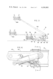 patent us4456093 control system for aerial work platform machine