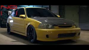 honda cars 2000 honda civic type r 2000 modified nfs2015 sound youtube