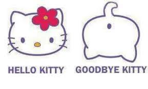 Hello Kitty Meme - 25 best memes about hello kitty goodbye kitty hello kitty