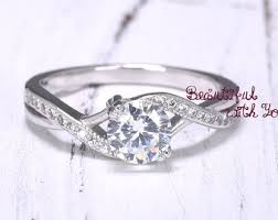 engagement rings silver images Engagement rings etsy jpg