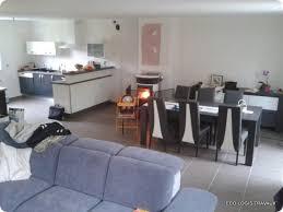 amenager cuisine ouverte sur salon enchanteur aménagement cuisine ouverte sur salon et decoration