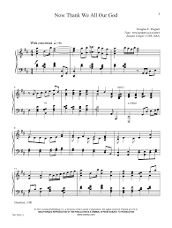 song of thanksgiving piano by douglas e j w pepper sheet