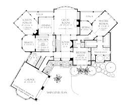 single story craftsman style house plans floor plan dream house pinterest english cottages craftsman