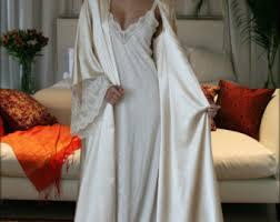 Wedding Sleepwear Bride Silk Pajamas Champagne Chiffon Bridal Lingerie Versailles