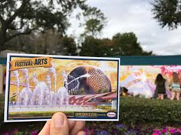 Paint By Number Mural by Guide U0026 Review The Epcot International Festival Of The Arts 2017
