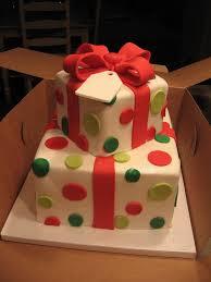 christmas present birthday cake designs u2013 happy holidays