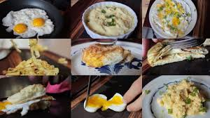 different types of cuisines in the 10 creative recipes just an egg