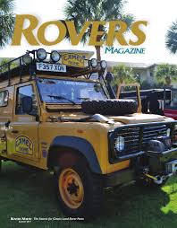 1995 land rover defender interior rovers magazine summer 2014 by rovers north issuu