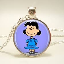 lucy necklace peanuts jewelry charlie brown character necklace