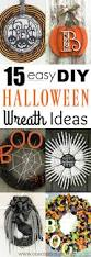 Easy Halloween Wreath by Diy Halloween Wreath Ideas 15 Creative Ideas For Your Home