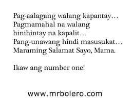 mothers day quotes tagalog
