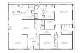 open home plans 55 ranch house plans with walkout basement simple style home floor