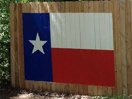 Texas Flag Image How To Paint A Texas Flag On The Fence For Portrait Photography