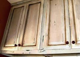 How To Antique Kitchen Cabinets With White Paint Antiqued Kitchen Cabinets U2013 Frequent Flyer Miles
