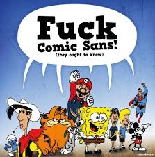 Sans Meme - image 415601 comic sans know your meme