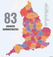 Somerset England Map 40 Ways To Carve Up England Big Think
