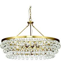 Robert Bling Chandelier Robert 1004 Bling Antique Brass 6 Light Chandelier