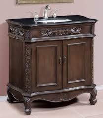 34 Inch Bathroom Vanity by Inch Single Sink Bathroom Vanity With Granite Top
