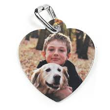 Photo Engraved Dog Tags Personalized Dog Tags