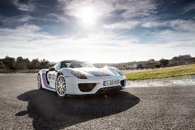 porsche 918 spyder white photos porsche 918 spyder estoril white sky cars