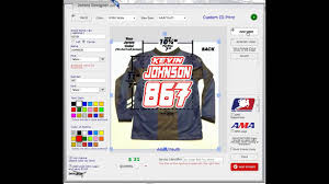 custom motocross jersey printing custom jersey print id designer local hero youtube