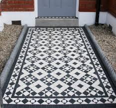 Border Floor Tiles Mosaic Hallway In St Peter U0027s Road Twickenham Tw1 U2014 Mosaics By Post