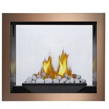 napoleon hd81nt top vent see thru gas fireplace body u0026 valve