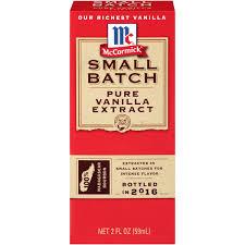mccormick small batch pure vanilla extract 2 walmart com
