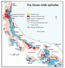Map Of Oman Records Of Ocean Growth And Destruction In The Oman U2013uae Ophiolite