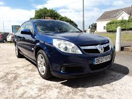used vauxhall vectra exclusiv 2007 cars for sale motors co uk