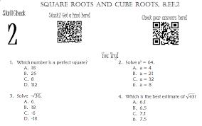 all worksheets square root worksheets grade 6 printable