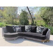canapé gris but canapé d angle noir et gris achat vente de mobilier