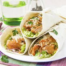 cuisine à la vapeur cuisine vapeur wraps mexicains au poulet et légumes magicmaman com
