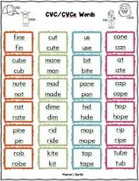 complete phonics packet easy printables cvc word families