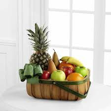 fruit basket ftd thoughtful gesture fruit basket u2013 flower patch