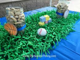 sports themed baby shower ideas on a sports themed baby shower