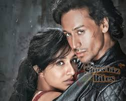 second poster of baaghi features an intense romance between the