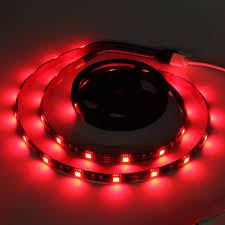 2pcs 50cm 5050 smd 17 keys remote control led strip lighting for