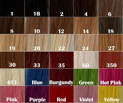 Black Hair Color Chart Hair Color Chart Number 5 New Hair Style Collections