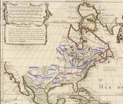 Colonial America Map by From Colonies To Revolution Hargrett Rare Library Map Collection