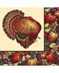 deal alert autumn turkey thanksgiving luncheon paper napkins