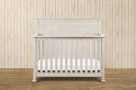nelson 4 1 convertible crib w toddler rail distressed white